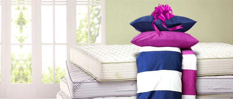 Nagy értékű ajándék a matracokhoz